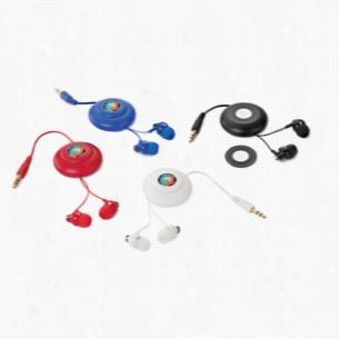 Click Retractable Earbuds