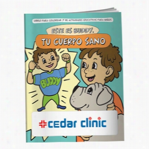 Coloring Book: Buddy Your Healthy Body (Spanish)