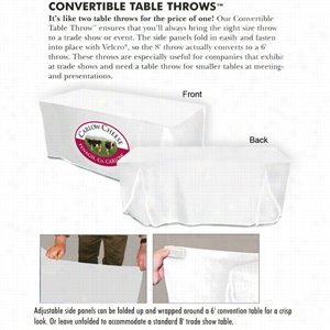 Convertible Table Cover 6' Or 8'