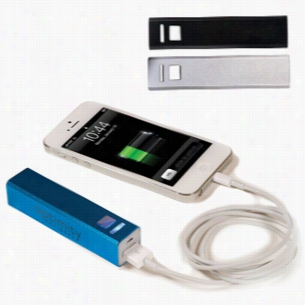 Custom Emergency Mobile Charger Power Bank - 2200 MAh