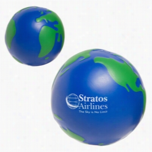 Earthball Blue Green Stress Reliever
