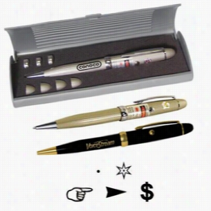 Executive Laser Pen with Multiple Lenses & Gift Box