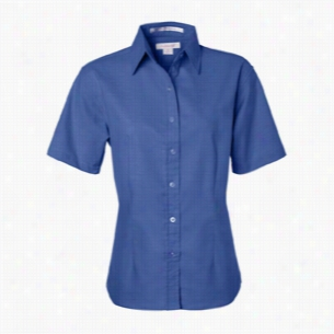 FeatherLite Ladies' Short Sleeve Oxford Shirt