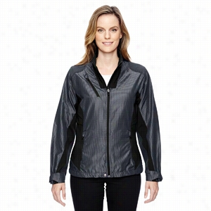 North End Sport Red Ladies' Interactive Aero Two-Tone Lightweight Jacket