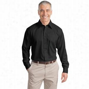 Port Authority Long Sleeve Non-Iron Twill Shirt