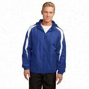 Sport-Tek Fleece-Lined Colorblock Jacket
