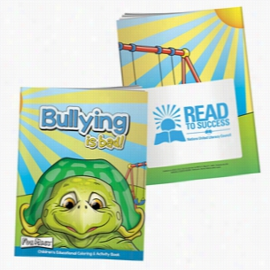 Coloring Book with Mask: Bullying is Bad