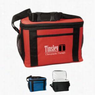Custom Jumbo Kooler Bag - Polyester - 12 Cans