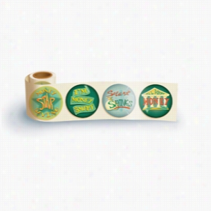 Fun Sticker Roll - Money Saving Star