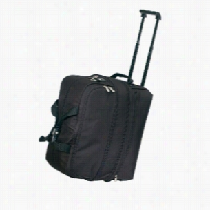 Polyester 600 denier expandable rolling duffel bag with shoe storage