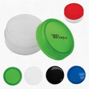 Round Lip Moisturizer Jar - SPF 15