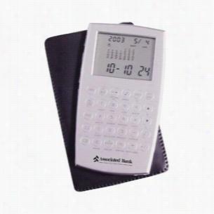 Slim Aluminum Calculator with Case