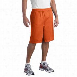 Sport-Tek Long PosiCharge Classic Mesh Short