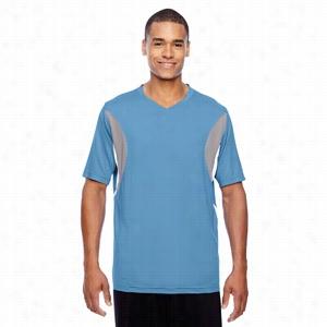 Team 365 Short-Sleeve Athletic V-Neck All Sport Jersey