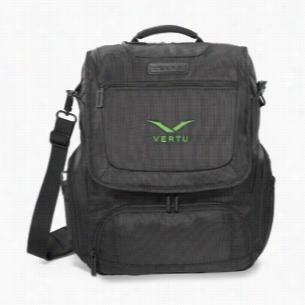 Zebra Convertible Computer Messenger Bag
