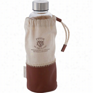 Alternative Glass Bottle with Pouch 18 oz