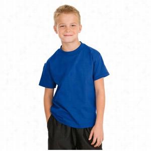 Hanes - Youth Tagless 100% Cotton T-Shirt