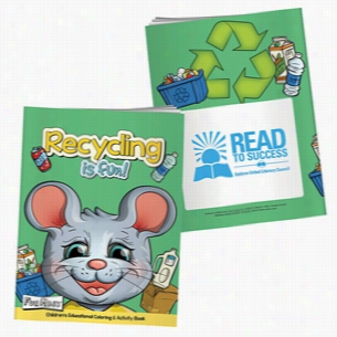 Coloring Book with Mask: Recycling Is Fun