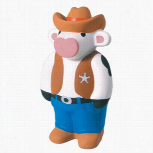 Cowboy Cow Squeezies Stress Reliever