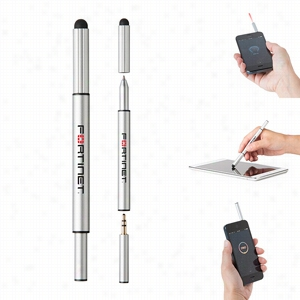 Custom iTrio 3 in 1 Laser Multifunction Pen