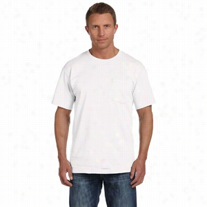 Fruit of the Loom 5 oz 100% Heavy Cotton HD Pocket T-Shirt