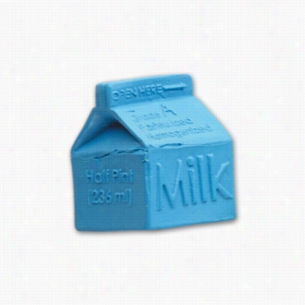 Pencil Top Stock Eraser- Milk Carton