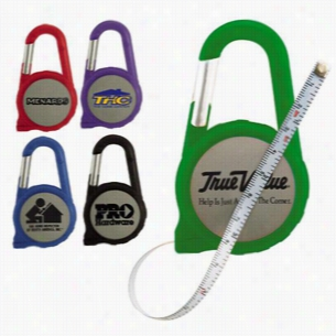 6 Foot Carabiner Tape Measure