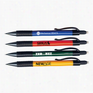 Auto Feed Rubber Grip Mechanical Pencil - Refillable
