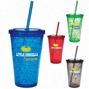 Double Wall Tumbler with Cooling Gel - 18 oz