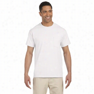 Gildan 6 oz Ultra Cotton Pocket T-Shirt