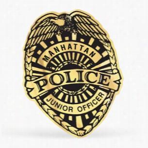 Junior Police Badge Stickers
