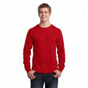 Port & Company Long Sleeve 5.4-Oz 100% Cotton T-Shirt