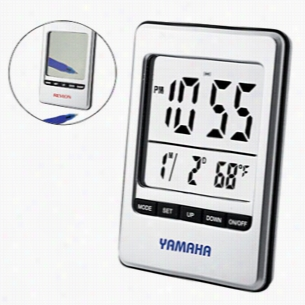 Travel Alarm Clock & Mirror