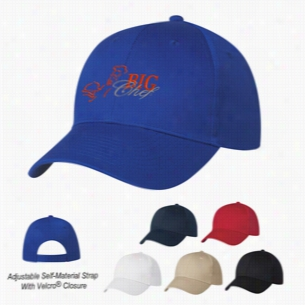 6 Panel Polyester Cap