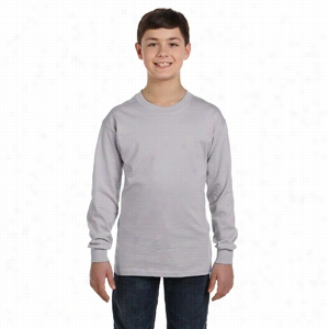 Gildan Youth 5.3 oz Heavy Cotton Long-Sleeve T-Shirt
