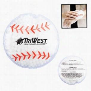 Hot Cold Gel Pack - Baseball
