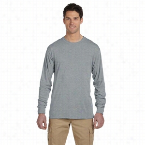 Jerzees 5.3 oz 100% Polyester Long Sleeve T-Shirt