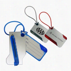 Luggage Tag W Pen