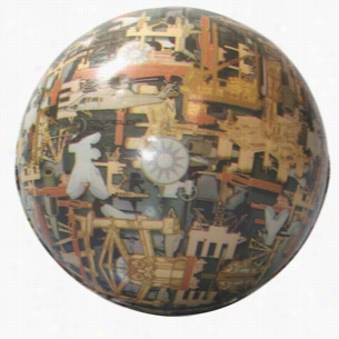 Oil Field Camo Ball Squeezies Stress Reliever