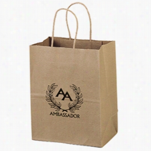 "Paper Recyclable Gift Tote Bag 7.75"" X 9.75"