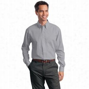 Port Authority Long Sleeve Value Poplin Shirt