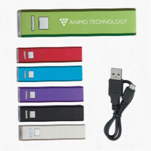 Portable Usb Charger With Multiple Color Options