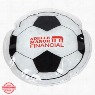 Soccer Ball Hot Cold Pack
