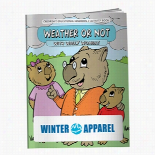 Coloring Book: Weather or Not