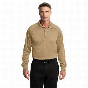 CornerStone Long Sleeve Select Snag-Proof Tactical Polo