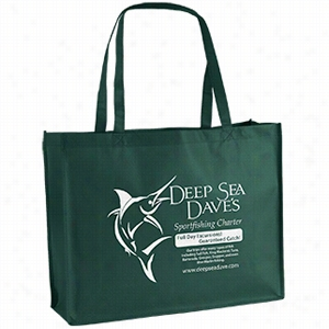 "Custom Non Woven George Tote Bag - 20"" X 16"