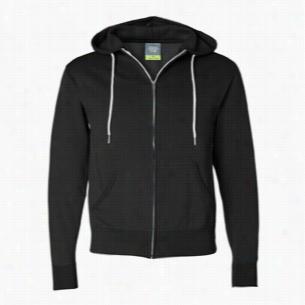 Independent Trading Unisex Full-Zip Hooded Sweatshirt