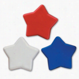 Pencil Top Stock Eraser- Patriotic Stars