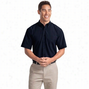 Port Authority Short Sleeve Easy Care, Soil Resistant Shirt