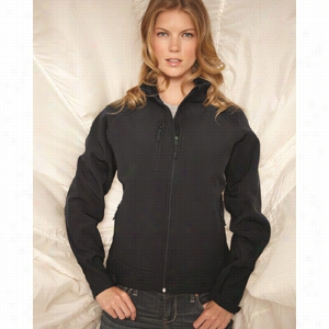 Stormtech Ladies' Bonded Thermal Soft Shell Jacket With Dupont Teflon